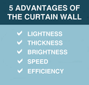 Curtain wall; height of elegance and efficiency
