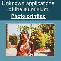 Unknown applications of the aluminium: Photo printing.
